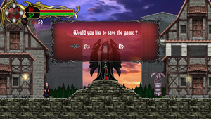 Castlevania Spirit of Lords Save screen by AuraTeam