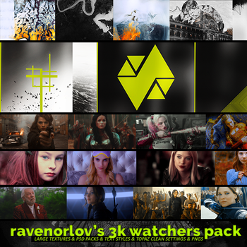 3K Watchers Pack by RavenOrlov