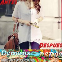 +Demons PSD by xHeartAttackPS