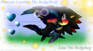|.:{ Chibi Glomp Time X3 [Zane And Caroline] }:.| by xXCrazyMusicLoverXx