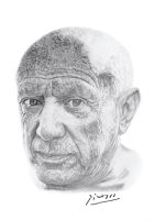 Pablo Picasso by agfox49