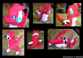 Plushie - Shoutmon by Gomis