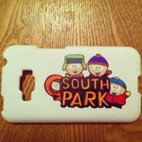 Phone case: South Park by yummehMOO