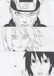 Team 7 Naruto Shippuden by Moieva