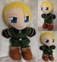 Commission, Plushie Germany by ThePlushieLady