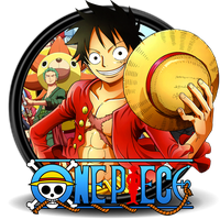 One Piece Circle Icon by Knives by knives1024