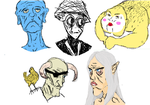 iScribble Horrors I by KlaxonLithology