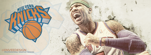 Carmelo Anthony - New York Knicks - Facebook Cover by enveedesigns