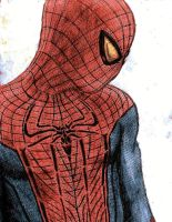 The Amazing Spider-Man in Color by AJWensloff