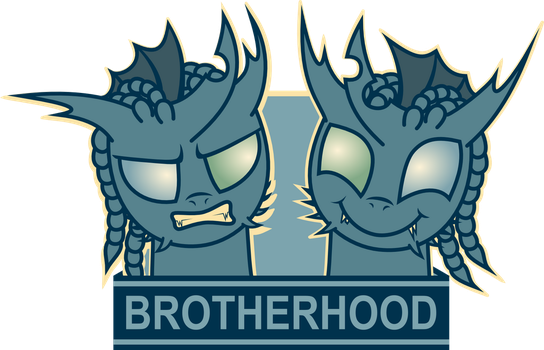 Shadow and Specter - Brotherhood Poster by Mrocza by ZeksMorshar