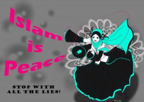 Islam is Peace by Zhar-nee
