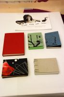 Hand made books by Oddel