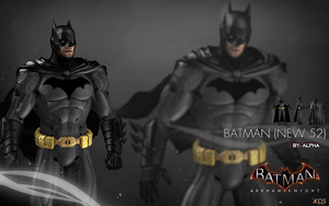 Batman Arkham Knight - Batman (New 52) by XNASyndicate