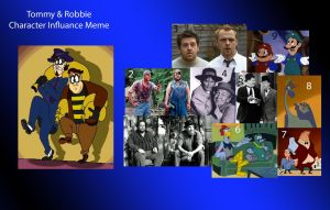Tommy and Robbie Character Influance Meme by BreakoutKid