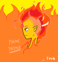 Flame prince by The-Human-Girl