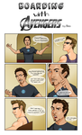 Boarding with the Avengers: Tony P.3 by Pyratesque