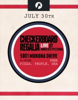 Checkerboard Regalia Poster by DearJune