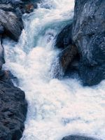 White Water at the Gates of Haast by Deceptico