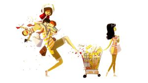 Shopping Day by PascalCampion