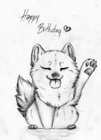 Happy Birthday! by PandorasWolf