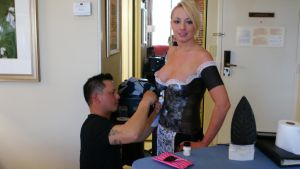 behind the scenes body painting by seniormanager