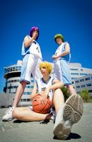 Kuroko No Basuke - Generation of Miracles by ShamanRenji