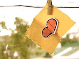 here's my heart in a postcard by madasrabbitsLV