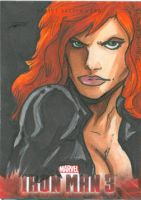 Black Widow by Iconograph