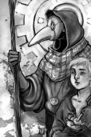 Plague Doctor by drathe
