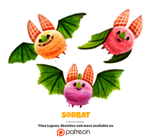 Daily 1346. Sorbat by Cryptid-Creations