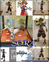 Sora from Kingdom Hearts 2 by enrique3