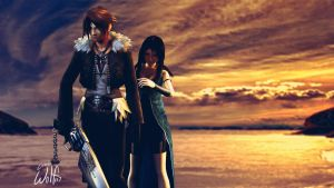 SquallxRinoa: Don't Leave. by LoneWolf117