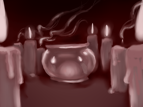 Candles by SaatciSpider