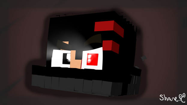 3D Model Profile pic for Dark_Pixels by SweetAnimates