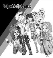 The Goth Squad by noakrank