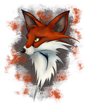 Fox Icon 3 by Dragon-flame13