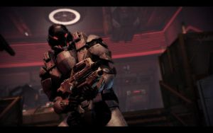 ME3 ODLC - Cerberus Trooper by chicksaw2002