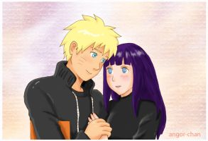 Naruto and Hinata softness by Angor-chan