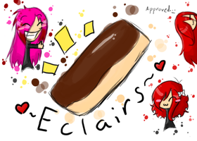 Eclairs by Rhora