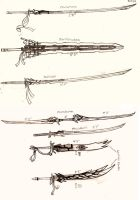 Weapon Concept Art: Swords (Part I) by RedW0lf777sg
