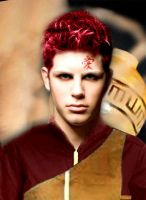 Real Life Gaara by TaylorJSomeday