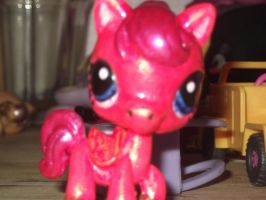 lps custom Pinkiepie by Puffypaw