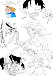 One Piece sketches by Majin-Luffy