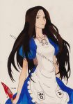 Alice (Alice Madness Returns)(anime style) by MissBlackNails