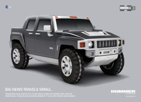 Hummer H3 concept by supersalzman