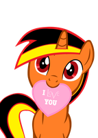 Vector Spike Rq I love you by Barrfind