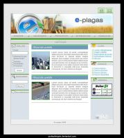 e-plagas - Website by punksafetypin