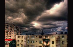 StormAboveTheConcreteJungle by overstimlutaion