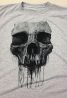 Sublimation Painted skull Shirt Final by RodgerPister