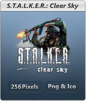 S.T.A.L.K.E.R Clear Sky - Icon by Crussong